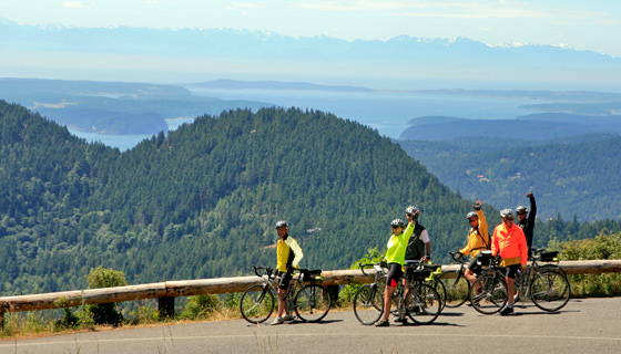 San Juan Islands Biking